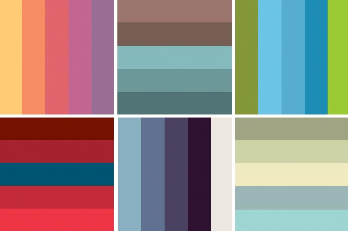 colour-schemes-christmas-home-decoration