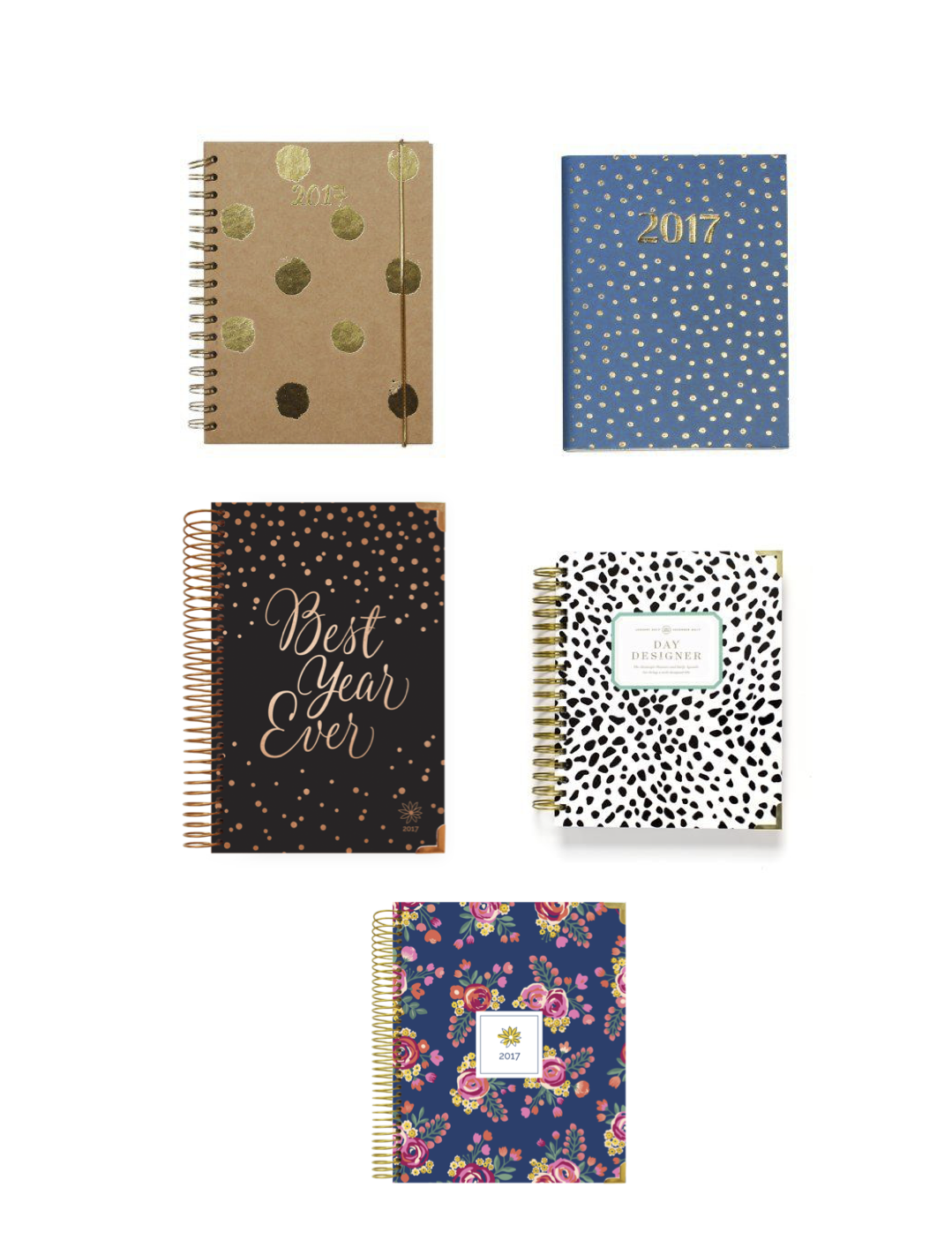polka-dot-spotted-diary-planner